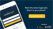 Browse legal jobs on the go with the TotallyLegal app