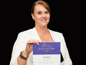 Jules Clark - Legal PA of the Year 2015